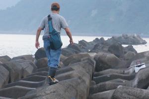沖テトラを歩く