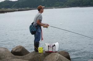 フカセ釣り師