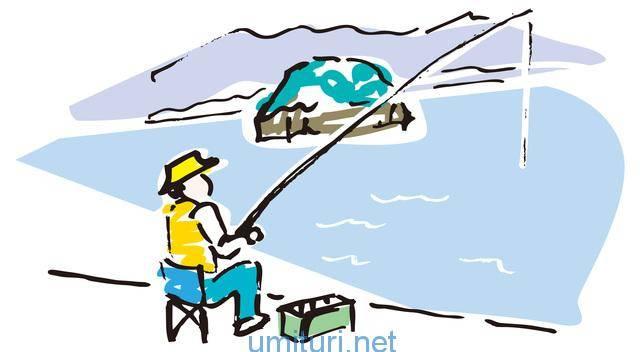 のんびり堤防釣り