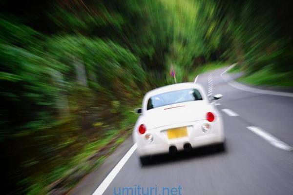 軽で高速走行