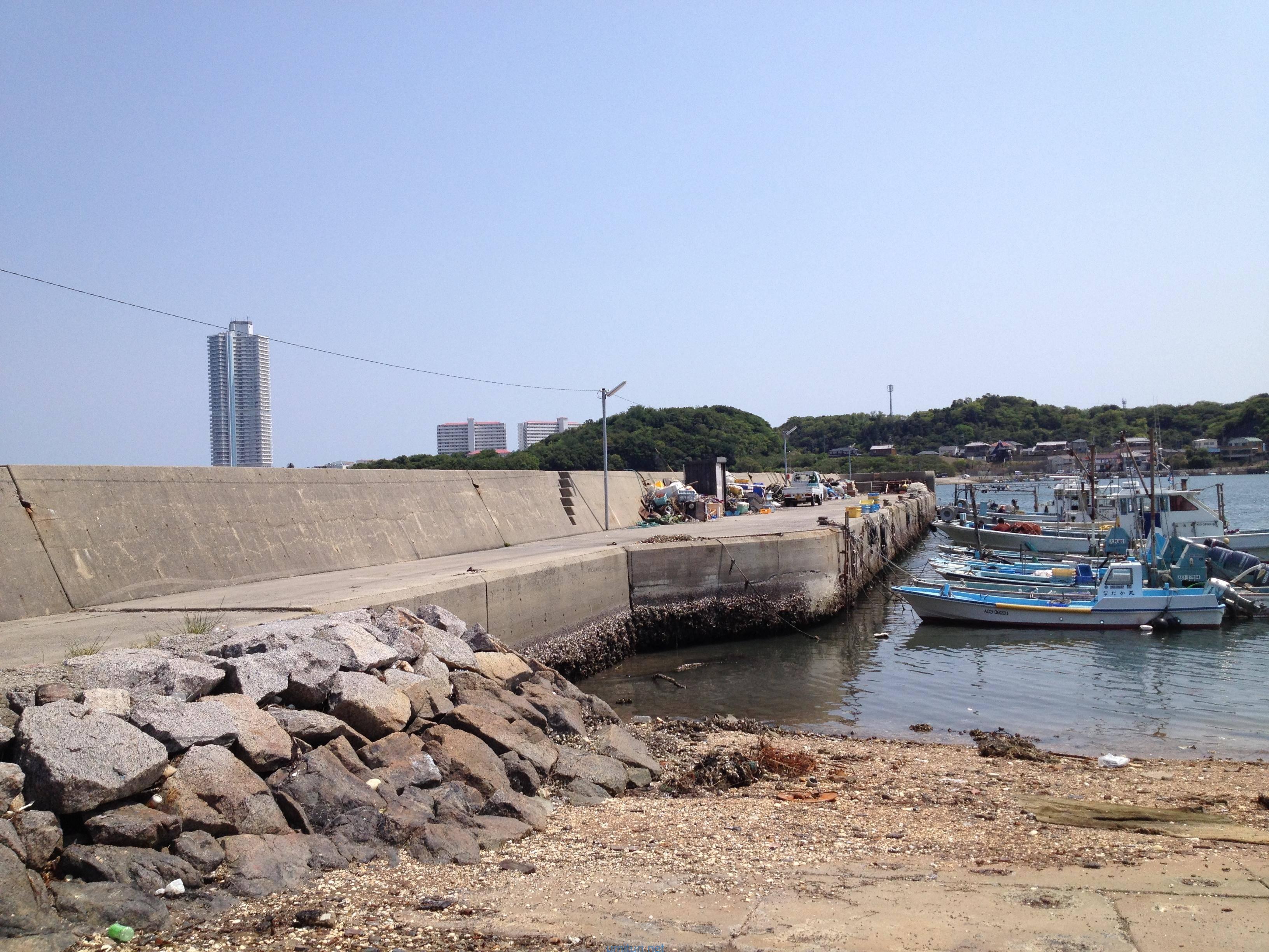 釣れたゴミとか海藻は堤防の上に放置しない!人工のゴミは持ち帰ろう