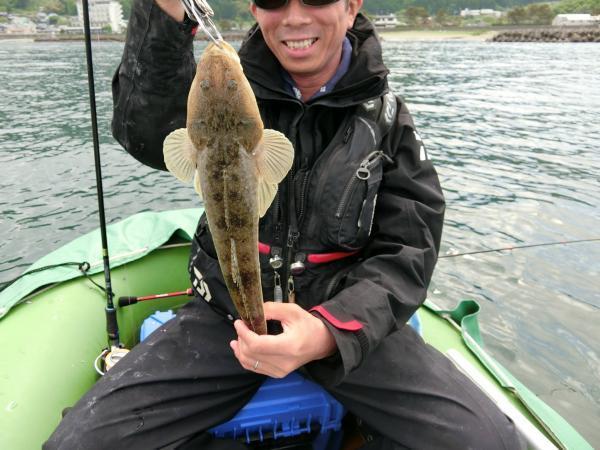 釣りおじさんマゴチを釣る