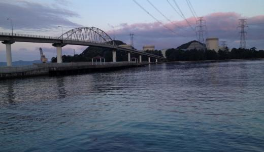 丹生(にゅう)漁港環境広場釣り桟橋は広くて釣り施設豊富