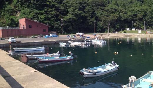 若狭【小川漁港】釣り場の解説|海中にあるロープには注意