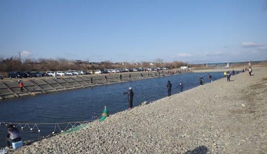 2019年2月の「北方川釣り体験場」で激混みの中マス釣りを攻略してきた