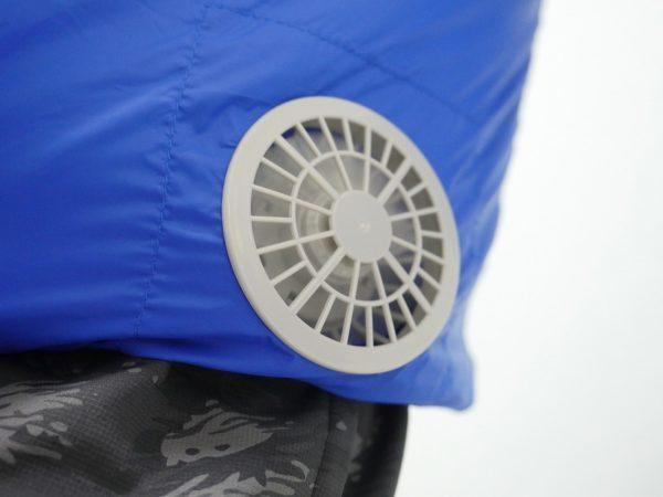 空調服のファン部分