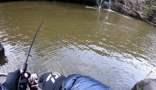 脱管釣りビギナー!サンクチュアリ第一ポンドを攻略する