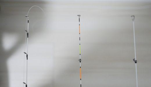 大郷屋の釣堀用繊細ミャク釣り穂先を買ったので手持ちの竿と比較してみた